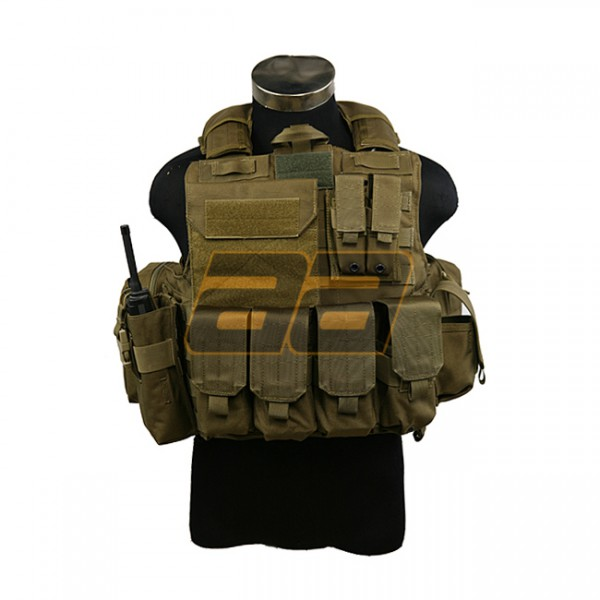 PANTAC Maritime Force Recon Vest S - Coyote