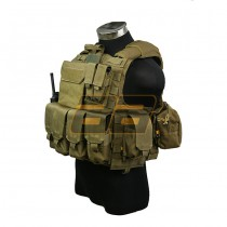 PANTAC Maritime Force Recon Vest S - Coyote 2