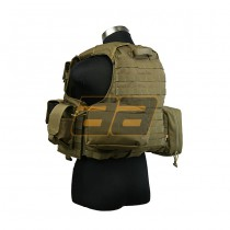PANTAC Maritime Force Recon Vest S - Coyote 3