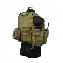 PANTAC Maritime Force Recon Vest S - Coyote 4