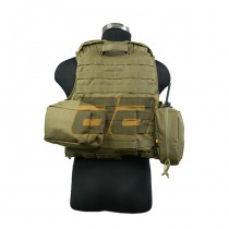 PANTAC Maritime Force Recon Vest S - Coyote 5