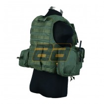 PANTAC Land Force Recon Vest S - Olive 4