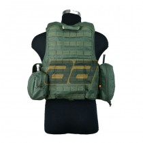 PANTAC Land Force Recon Vest S - Olive 5