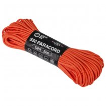 Atwood Rope 550 Paracord 100ft - Burnt Orange