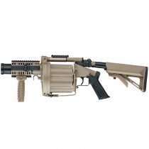 ICS MGL Multiple Grenade Launcher - Tan