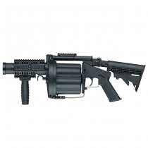 ICS MGL Multiple Grenade Launcher - Black