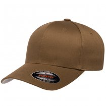 Flexfit Wooly Combed Cap - Coyote Brown