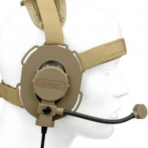 Z-Tactical Elite III Ambidextrous Headset - Tan