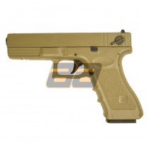 Cyma G18c Fixed Slide AEP - Tan