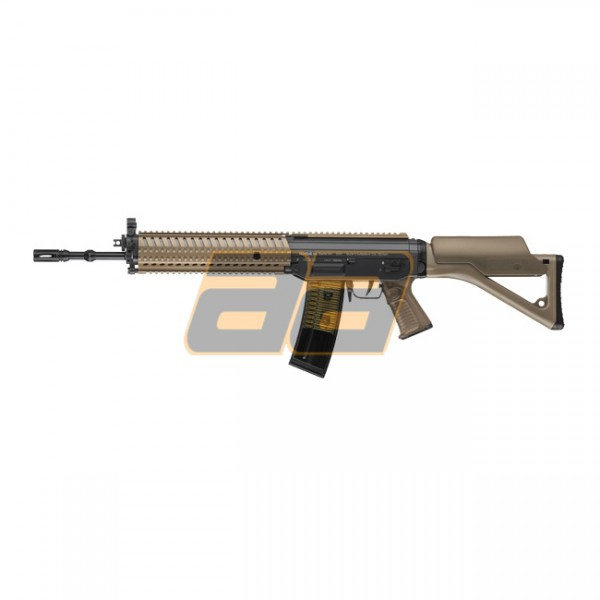 ICS SIG 551 MRS LB AEG - Dark Earth