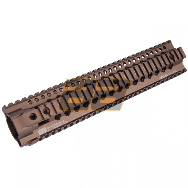 Madbull Daniel Defense Omega X Rail 12 inch - Dark Earth