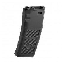 G&P M4 AEG 340BBs Ball Hi-Cap Magazine - Black