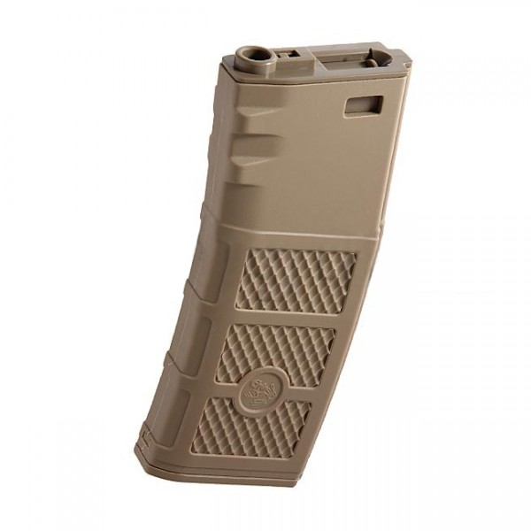 G&P M4 AEG 340BBs Ball Hi-Cap Magazine - Dark Earth