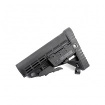 CAA Airsoft Collapsible Butt Stock - Black