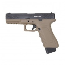 APS Action Combat Pistol CO2 - Dark Earth