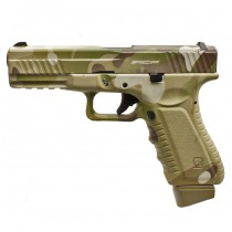 APS Action Combat Pistol CO2 - Multicam